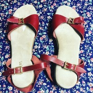 Awesome vintage bass sandals